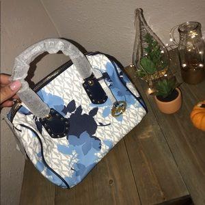 "Authentic Michael Kors ""Aria"" small satchel"